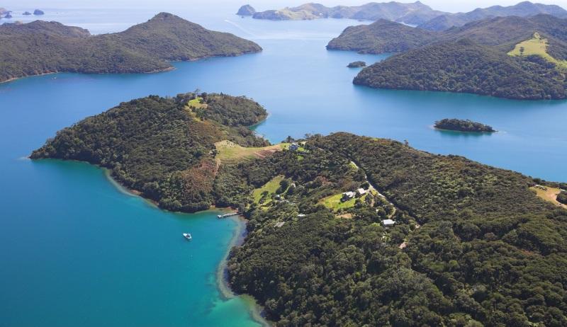 New Zealnd Islands